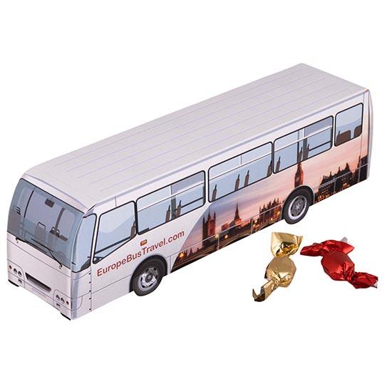 Bus metallic sweets