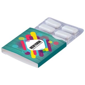 Kleine blister met kauwgom