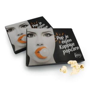 Doosje magnetron popcorn
