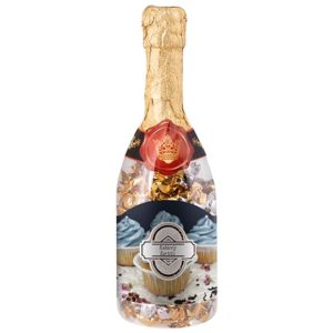 Champagnefles met snoep-1782